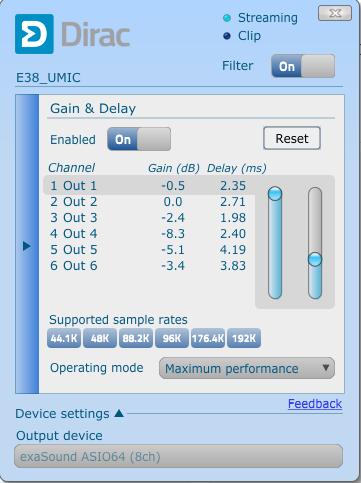 Multichannel DAC - ExaSound E38 - by Frans Keylard, Hi-Res Digital